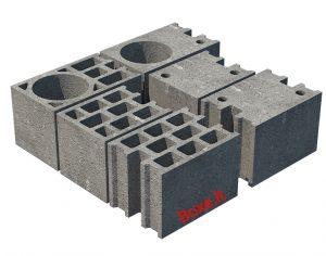 mūro blokeliai sienoms